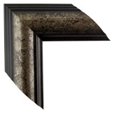 black silver picture frame